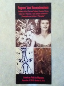 American Folk Art Museum exhibition flyer